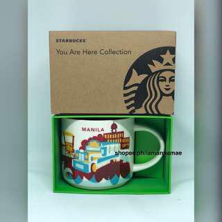 Starbucks Manila YAH You Are Here Mug