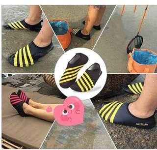 Aqua shoes beach