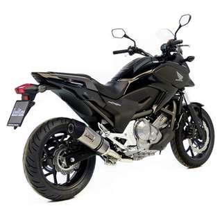 Honda NC750 S/X/DTC/ABS Leovince LVONE EVO Stainless Steel