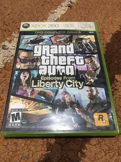 GTA IV Episode from liberty city( xbox 360)