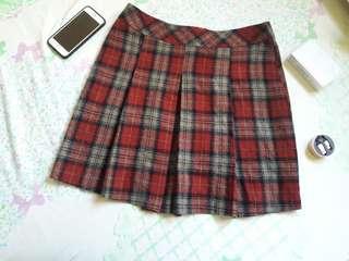 Highwaist Plaided skirt