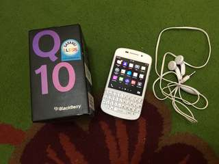 Reprice blackberry Q10(NO NEGO) NO charger