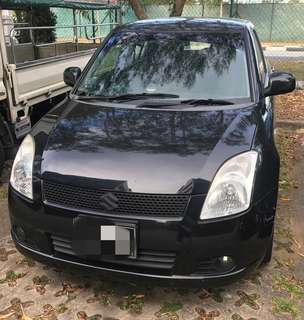 Suzuki SWIFT. weekly rental from $380 onwards.