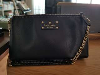Kate Spade - Authentic - Black Purse - Perfect for Both Workwear and Casual
