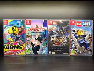 [Used] Nintendo Switch Games