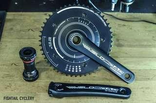 Velocidad VC1 Disk crankset