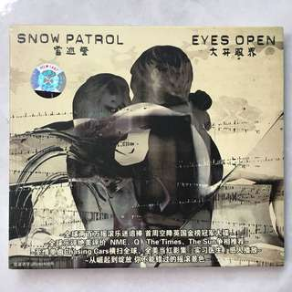Snow Patrol - Eyes Open CD album
