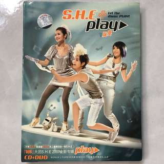S.H.E. - Play CD album & DVD