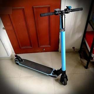 Escooter Electric Scooter Slim Light Weight