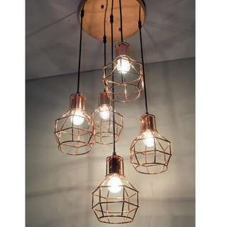 LSH Stylish Decorative Pendant Ceiling Light 17711/5