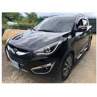 2012年 現代Hyundai ~ ix35 里程僅4萬 ~ 頂配 全景天窗~ 黑