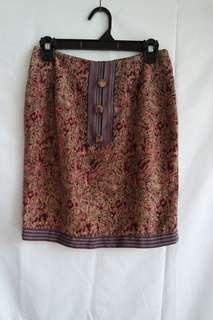 Batik Pencil Skirt (rok sepan)