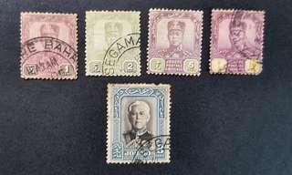 Johor Malaya stamps