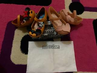 Reprice take it all mini melissa original (NO NEGO) size 9