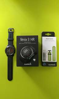 Garmin fenix 3 HR (藍寶石錶面)
