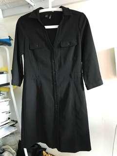 Navy Mango Dress