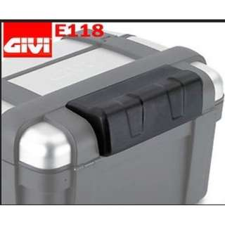 Authentic GIVI TREKKER TRK46 TRK TRK33 E118 motorbike boxes back topbox top boxrest pillion box seat lid base