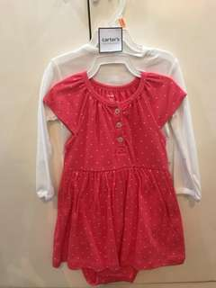 Carters Dress with Cardigan x Gingersnaps x Old Navy x Gap x H&M