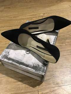 🚚 Awdweina 麂皮高跟鞋