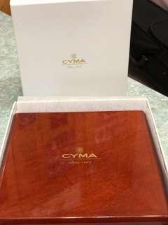 CYMA 原裝木錶盒