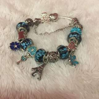 •brandnew• Pandora Inspired 925 Bracelet and Charms