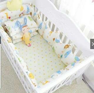 🚚 嬰兒床組7件組