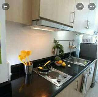 Fully Furnished 1Bedroom Condo SMDC Light Residences along boni mrt station