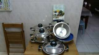 7 pcs Original AMC Cookware *From Germany