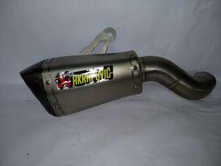 AKRAPOVIC Z900 SLIP ON ORIGINAL