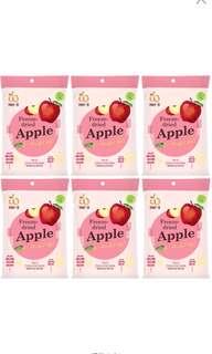 Wel-B全天然冷凍乾燥蘋果脆片(無添加糖)6包優惠裝
