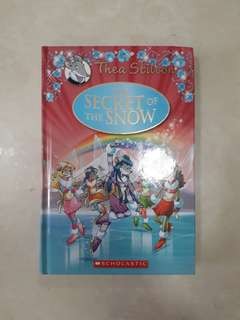 Thea Stilton The Secret Of The Snow