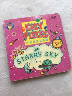The Starry Sky Mini Puzzle Book (4 puzzles inside)