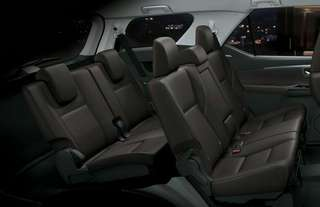 Brand New Toyota Fortuner Leather Seats