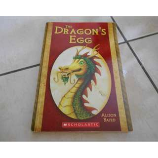 The Dragon's Egg By Alison Baird (Scholastic)Novel / Story Book #KayaRaya