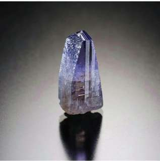 Natural Tanzanite Crystal Mineral
