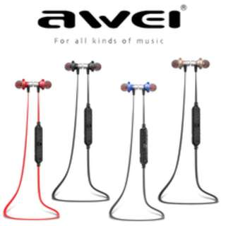 Super Bass Wireless Bluetooth Earpiece Awei A860BL