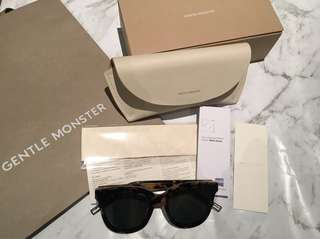 Authentic Gentle Monster Scarlet Sunglasses