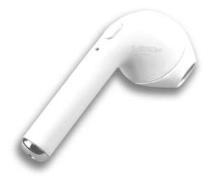 (249)i7 Wireless Music Earphone Bluetooth invisible Earbud Single-white
