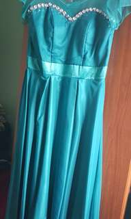 Gown for plus size women