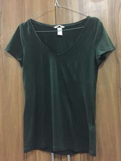 H&M Basic Army Green