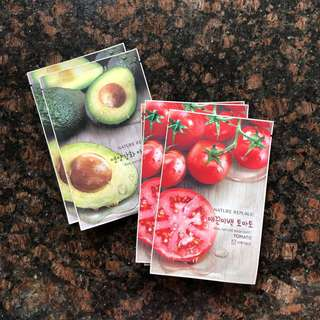 Nature Republic Sheet Mask ; beli 5 = 55rb