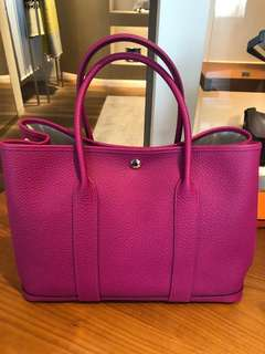 Hermes Garden Party 36 L3 Rose Purple 紫紅色(Stamp C)