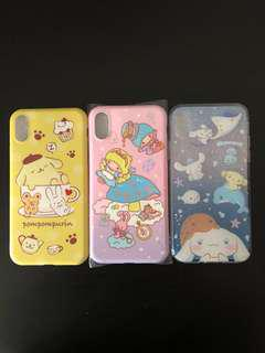 Assorted Sanrio iPhone X Phone Case