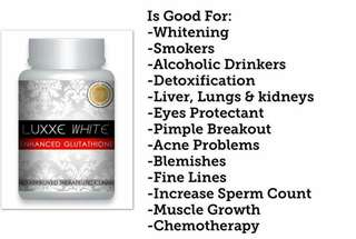 Whitening and health supplement