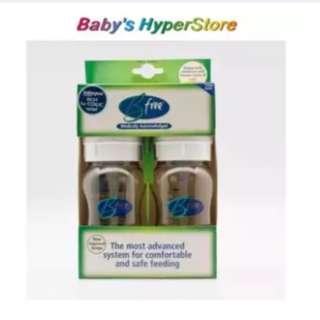 Bfree 240ML Twin Pack Feeding Bottle