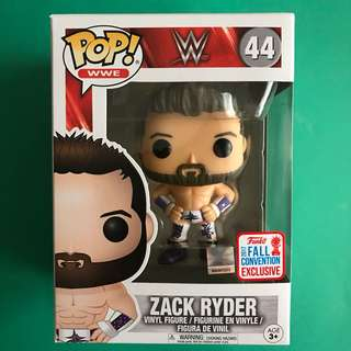 Zack Ryder WWE Pop! Vinyl Figure (2017 Fall Convention Exclusive)