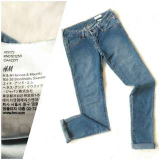 &SQIN (H&M) • Classic stonewashed jeans