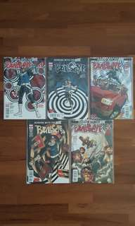 Bullseye (complete 5-issue miniseries)