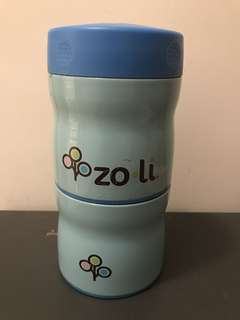 Zoli this and that double tiered vacuum insulated food jar