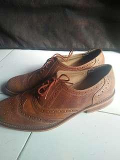 Boots Kulit Asli UK 43